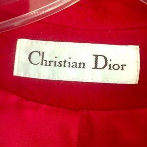 Dior vintage coat